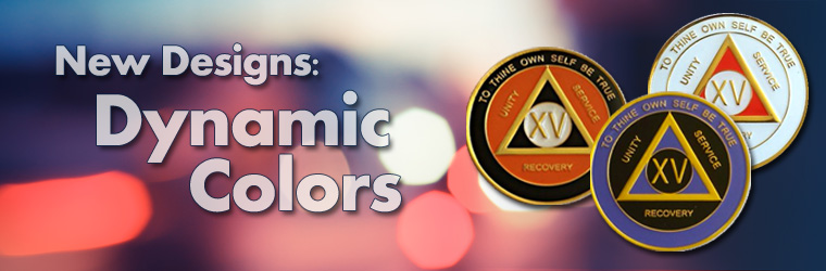 Dynamic Colored Medallions