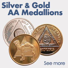 Gold & Silver AA Medallions
