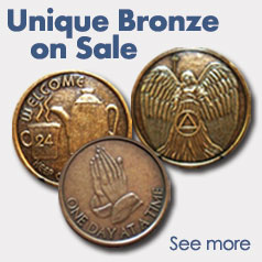 Unique AA Bronze Medallions on Sale