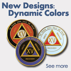 Dynamic Color AA Medallions