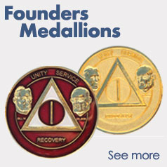 Founders AA Medallions