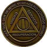 Spanish AA Medallion