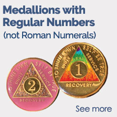 Medallions with Regular Numbers