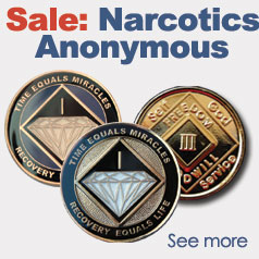 Narcotics Anonymous Medallions