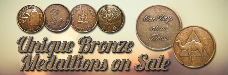 Unique Bronze Medallions on Sale