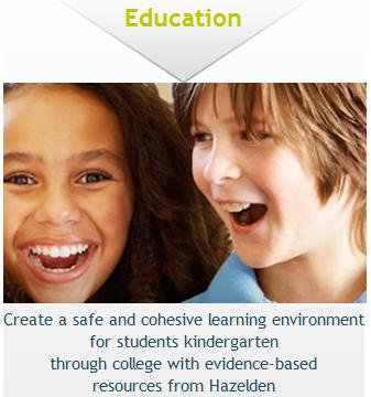 Education Resources - Create a safe and cohesive learning environment for students kindergarten through college with evidence based resources