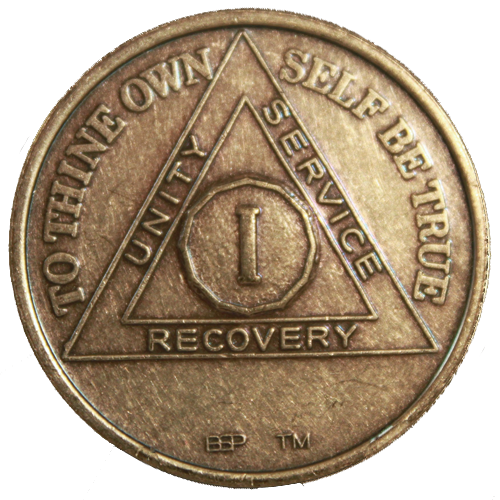 Bronze AA Anniversary Medallion