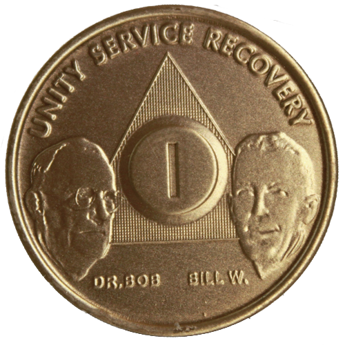 Bronze AA Founders Medallion