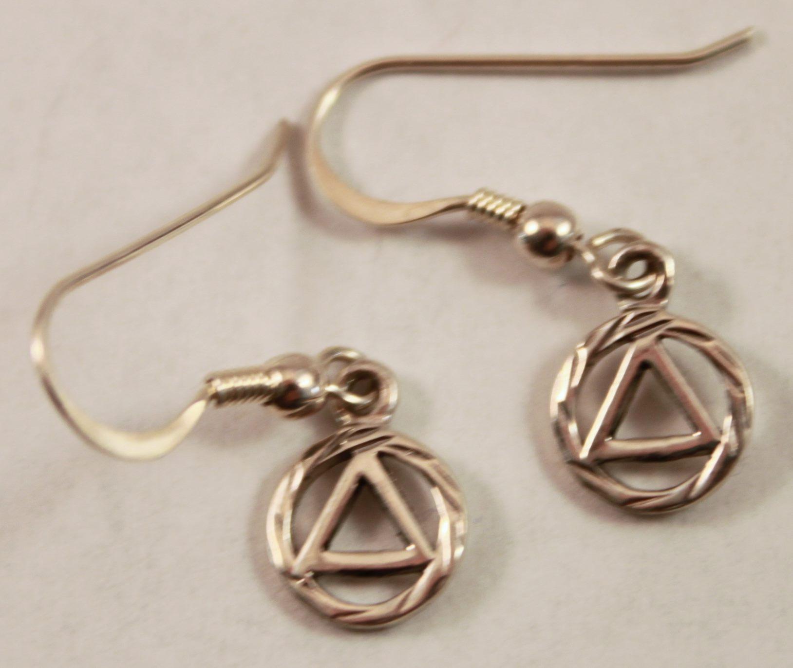 38 Aa Symbol Earrings