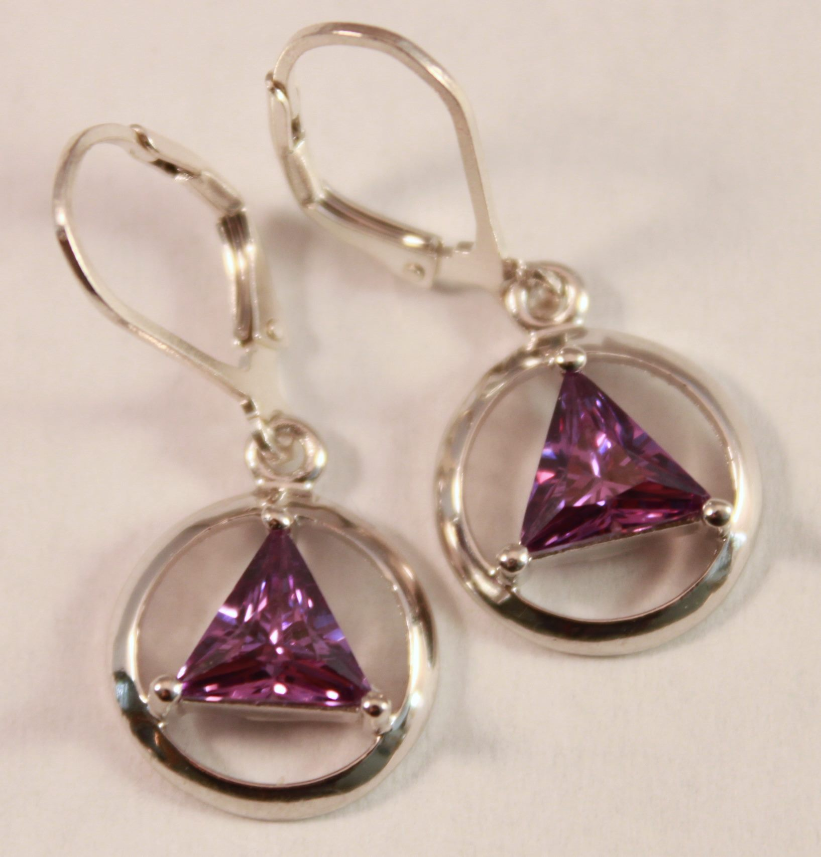 house misayo february earrings amethyst stone lg