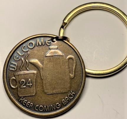 Bronze Key Charms