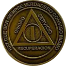 Spanish AA Medallion