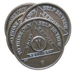 Group Ordering -Bronze Anniversary/Birthday AA Medallions