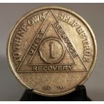 Bronze AA Birthday/ Anniversary Medallion