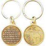 Bronze AA Camel Key Chain