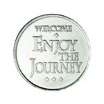 """Enjoy The Journey"" Aluminum AA Desire Chip"