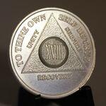 Fine Silver Anniversary Medallion