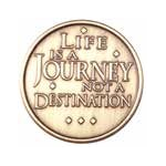 Life is a Journey Medallion -Roll of 25