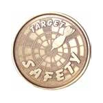 Target Safety Medallion Roll of 25