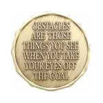 Obstacles Medallion Roll of 25