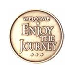 Welcome - Enjoy the Journey Medallion Roll of 25