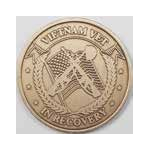Vietnam Vet in Recovery Bronze AA Medallion -Roll of 25