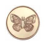 Butterfly Serenity Prayer Affirmation Medallion