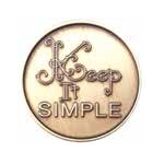 Keep It Simple Bronze AA Medallion -Roll of 25