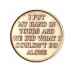 Hand in Hand Together AA Medallion -Roll of 25