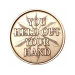 """You Held Out Your Hand"" AA Medallion -Roll of 25"