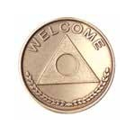 Al-Anon Welcome Bronze Medallion -Roll of 25