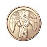 Angel Bronze Medallion -Roll of 25
