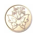 Let Go Let God Medallion - Roll of 25