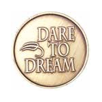 Dare to Dream Bronze Medallion -Roll of 25