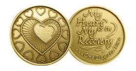 Heart Motif Affirmation Medallion