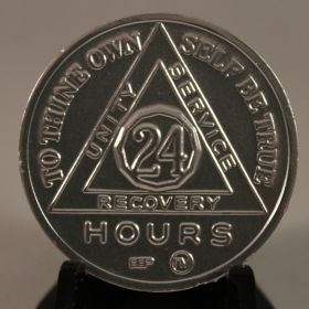 """To Thine Own Self Be True""""  24 Hour Recovery Chip"""