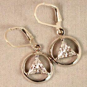 AA Symbol Earrings