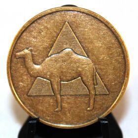 Camel AA Bronze Medallion