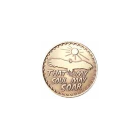 That My Soul May Soar Medallion -Roll of 25