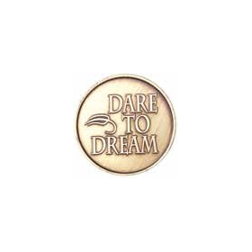 Dare to Dream Leaf Medallion -Roll of 25