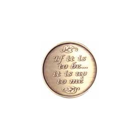 If You Would Change The World Medallion -Roll