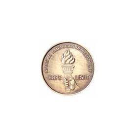 African American Bronze AA Medallion -Roll of 25