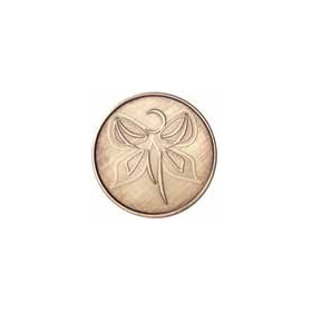 """""""I Am A Miracle""""  AA Medallion -Roll of 25"""