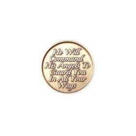 Angel Bronze Medallion -Roll of 25
