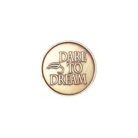 Dare to Dream Bronze Medallion -Roll of 25