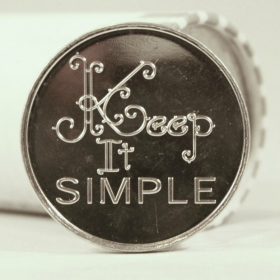 Keep It Simple Aluminum Chip