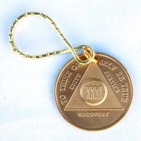 Bronze AA Key Tag
