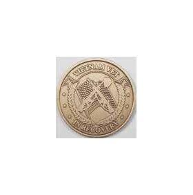 Vietnam Vet in Recovery Bronze AA Medallion -Roll of 25