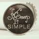 Keep It Simple Aluminum Chip